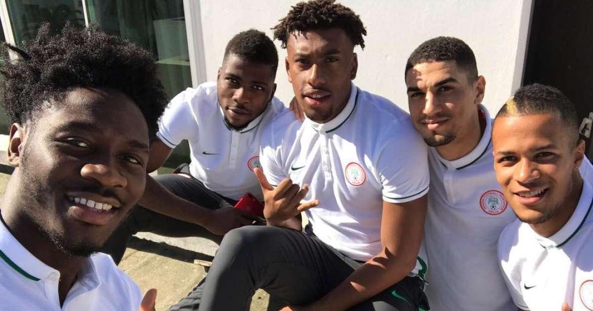 Nigerian Super Eagles players
