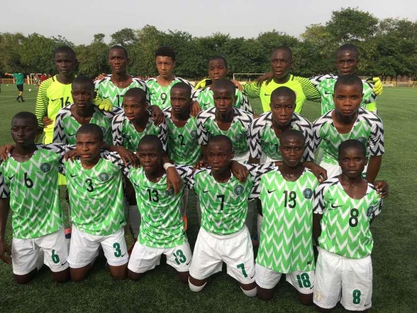 Future Eagles - Future Eagles lock horns with Mexico U16 team