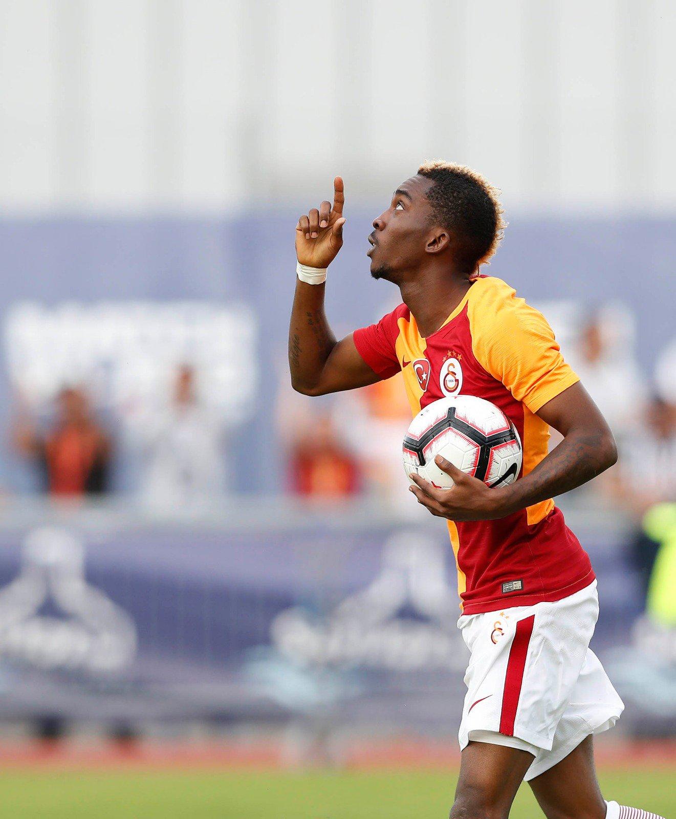 onyekuru - Henry Onyekuru grabs a brace in Galatasaray 5-0 win over Antalyaspor