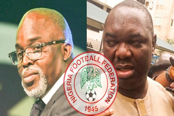 Federation Internationale de Football Association ban: Nigerian govt finally decides between Pinnick, Giwa