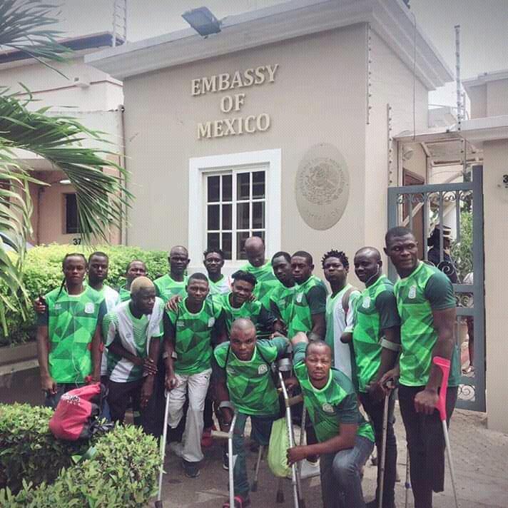 amputee eagles and visas - Nations Cup: Angolan Embassy waives visa fees for Amputee Eagles