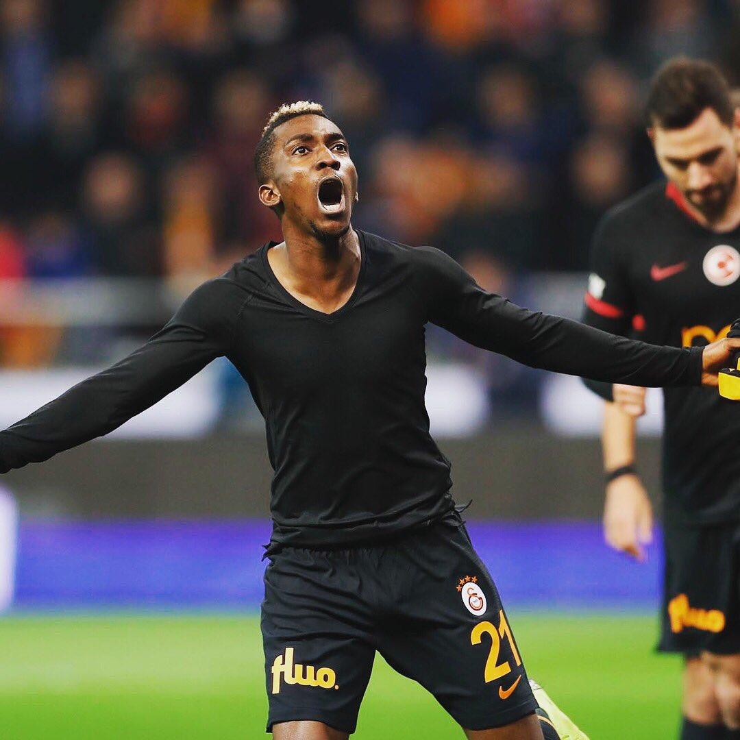 onyekuru 2 - Henry Onyekuru grabs a brace in Galatasaray 5-0 win over Antalyaspor