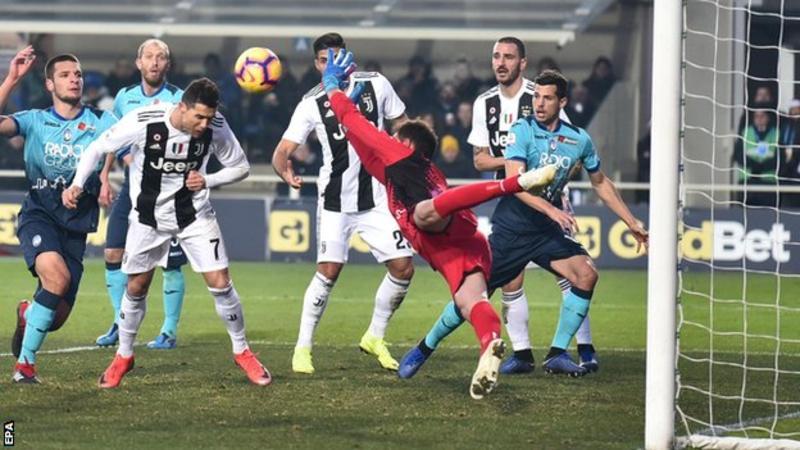 Atalanta Juventus 2 2 Ronaldo Comes Off Bench To Rescue The Old Lady