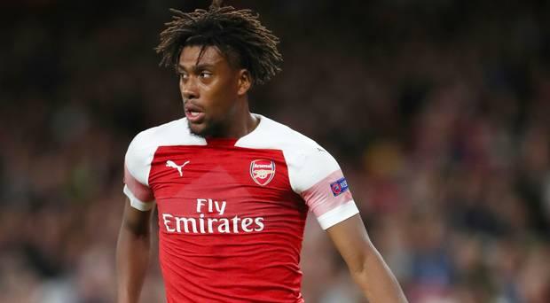 alex iwobi arsenal 1 - Iwobi Stars as Arsenal Hand Solskjaer First League Defeat