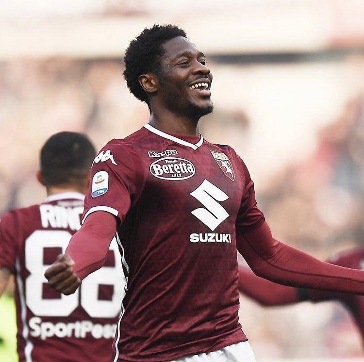 aina - Aina thanks teammates for maiden Torino goal