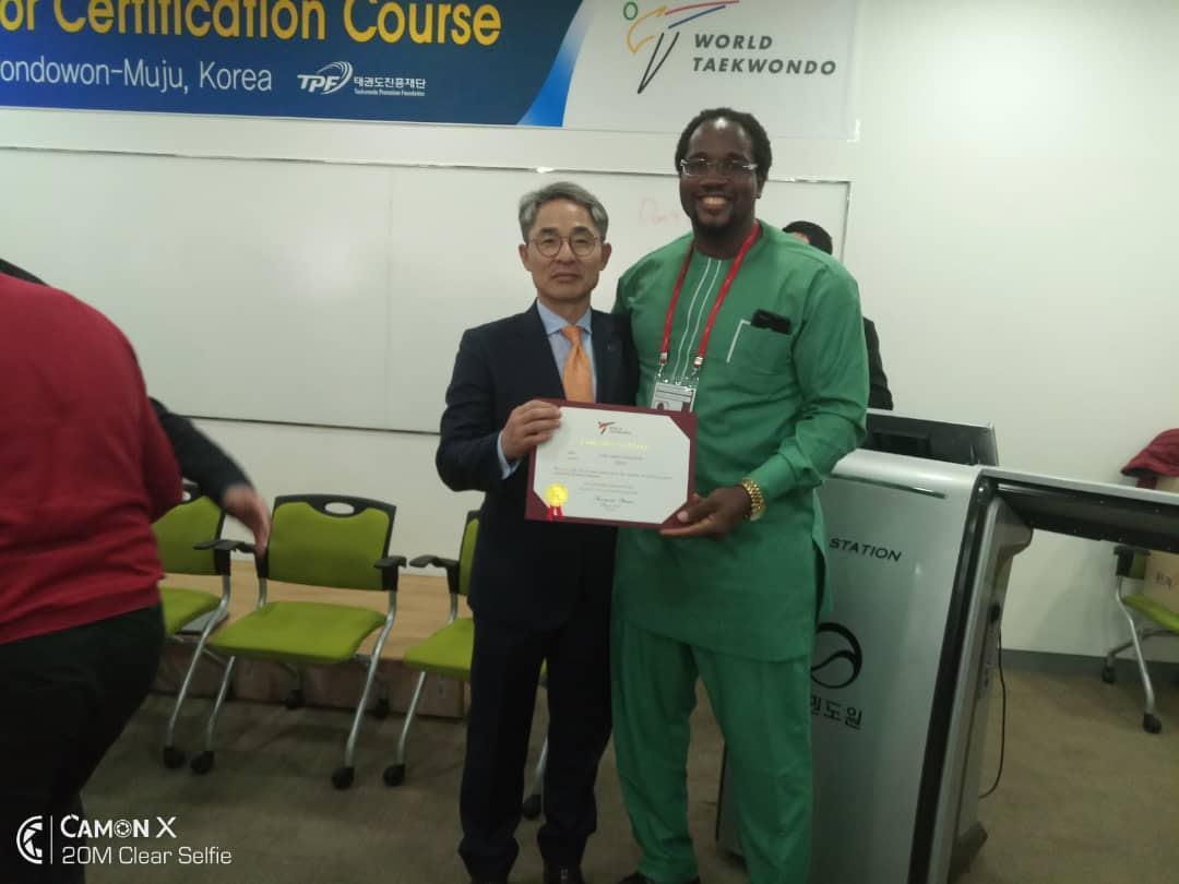 chika - World Taekwondo certifies Chukwumerije as global educator