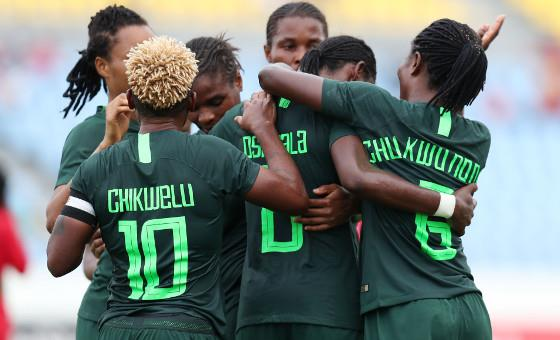 falcons6 2 - France 2019: Super Falcons get Fitness Trainer, Match Reader