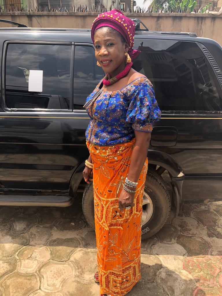 Image result for Super Eagles midfielder, Kalu Samuel's mother, Ozuruonye Juliet Kalu