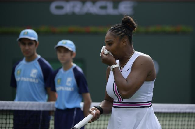 serena - Serena withdraws from BNP Open with viral illness