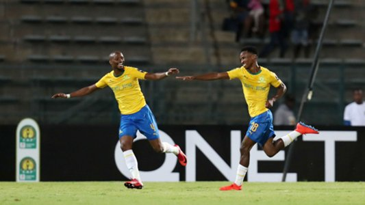 sundowns - Caf Champions League: Lobi Stars lose to Mamelodi 3-0 In Pretoria
