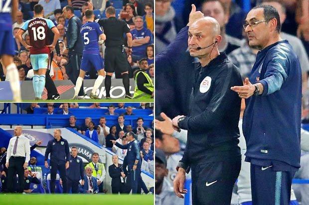 Maurizio Sarri - FA to investigate insults hurled at Sarri by Burnley