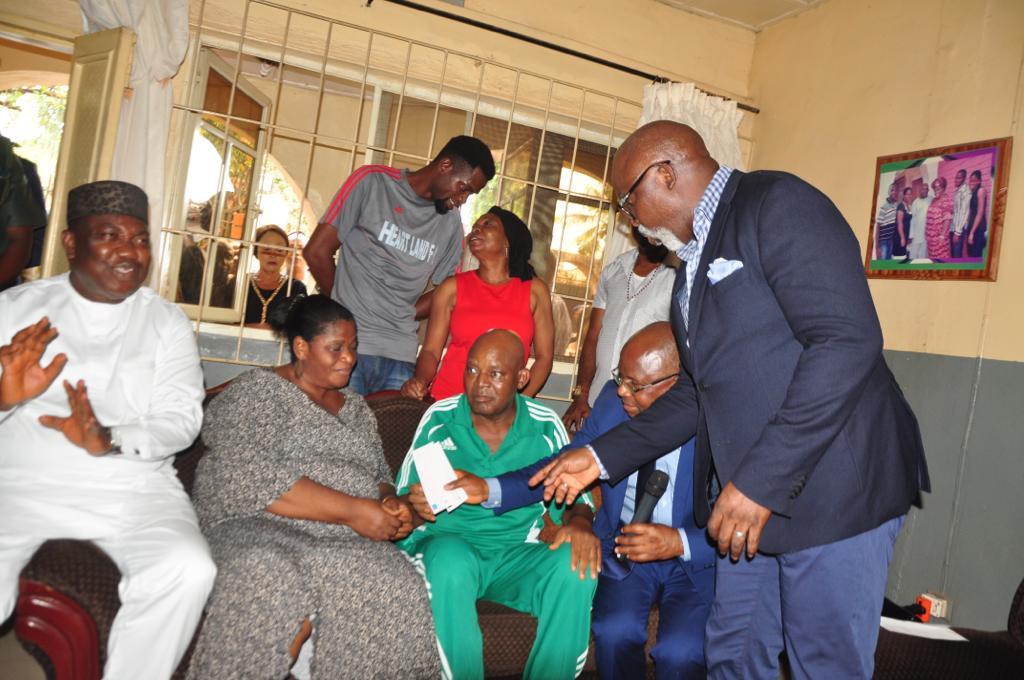 chukwu 1 - Medical Treatment: Chukwu hits London tonight, wife, sister accompany Ex-eagles captain