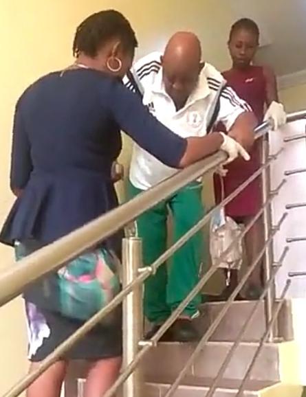 chukwu3 - Chukwu arrives London, says I still have waist pain