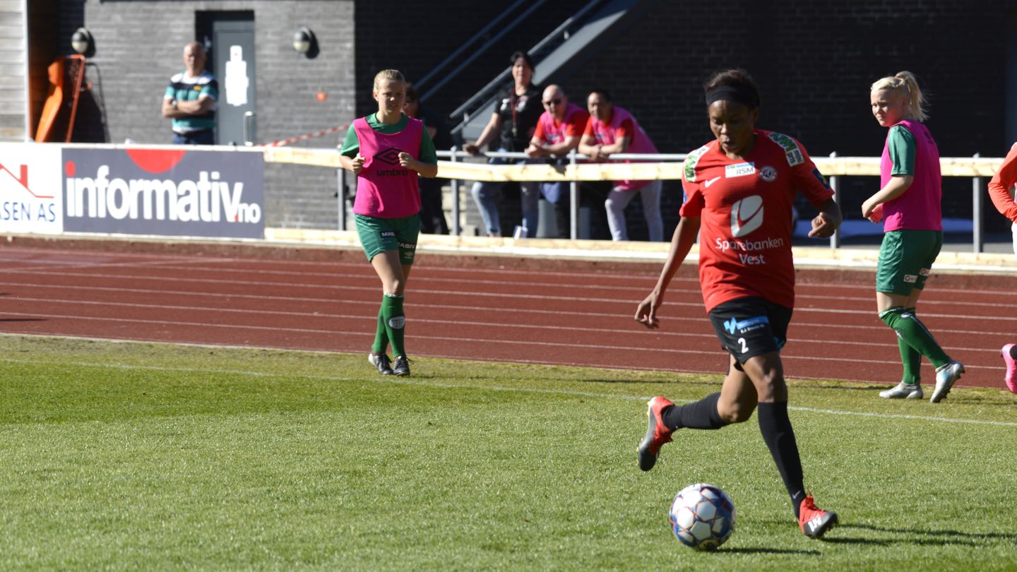 ebere - Falcons defender secures first victory for Norwegian club