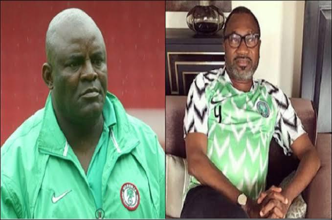 otedola - Otedola redeems N18m pledge to ex-Eagles coach Chukwu