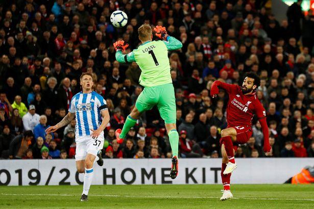 salah 1 1 - Salah becomes first player to reach 20 goals this season