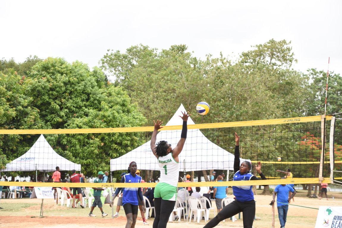 volleyball - 2019 Africa Beach V'ball: Nigeria, Ghana, Angola shine on Day 1