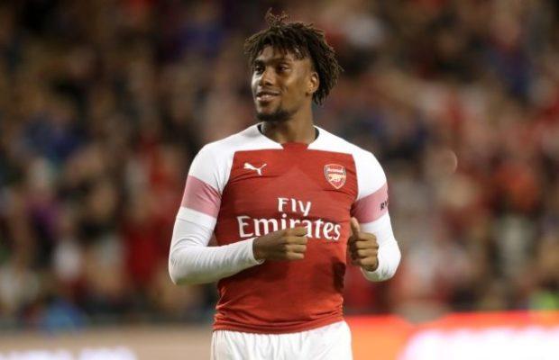 iwobi returns - Fake News! Iwobi denies issuing quit notice to Arsenal