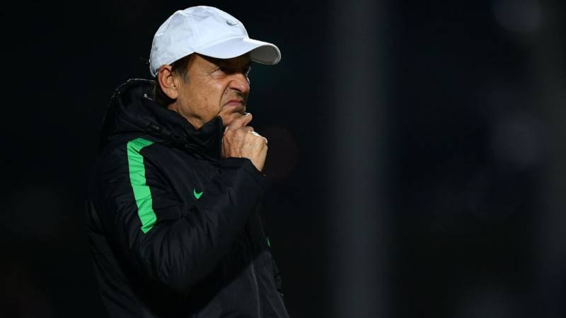 Nigeria coach Gernot Rohr - Rohr to see off his contract after family meeting