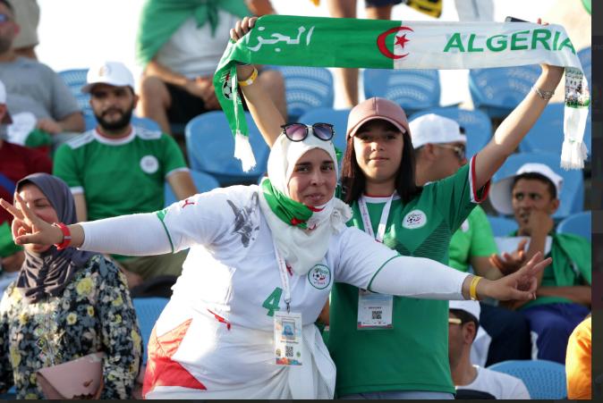 algeria fans - Algeria versus Nigeria: Flash back March 1990 on their mind!