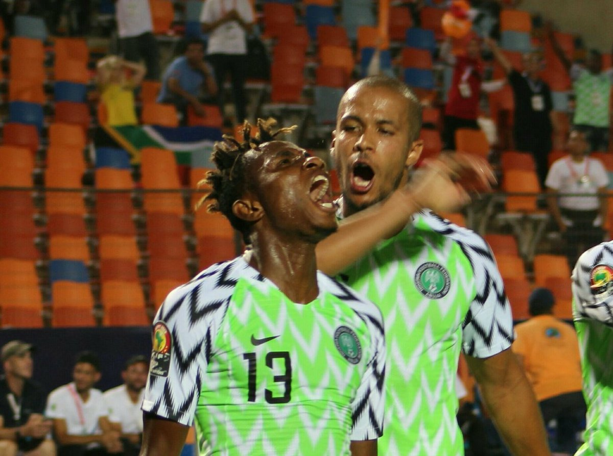 chukwueze celebrates 1 - Three Takeaways from Nigeria's quarter final clash against South Africa