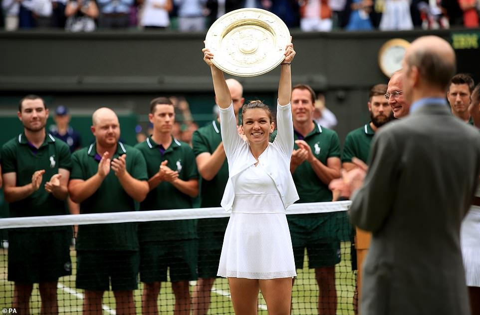 halep - Ruthless Halep downs Serena to claim Wimbledon title