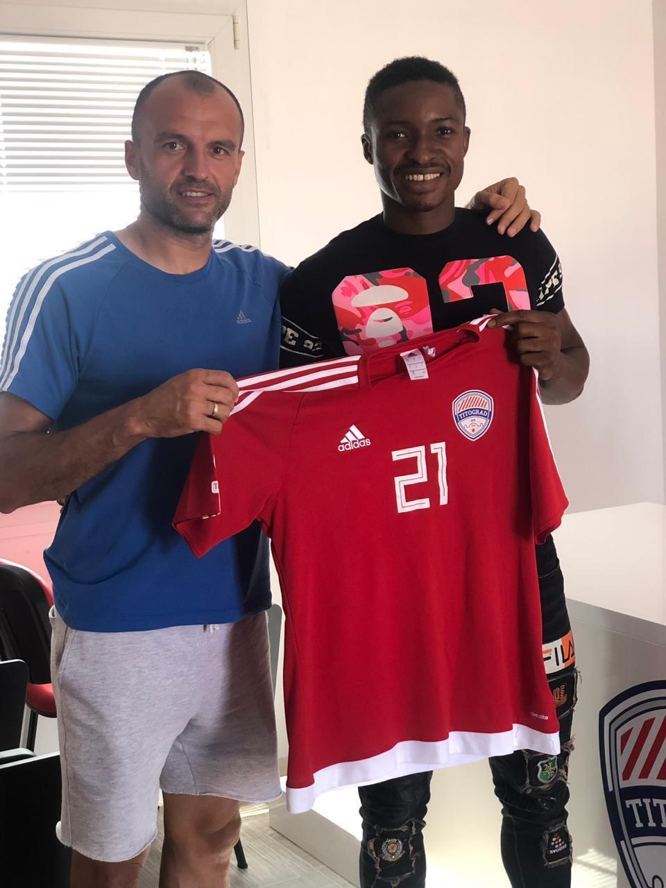 Katsina United striker