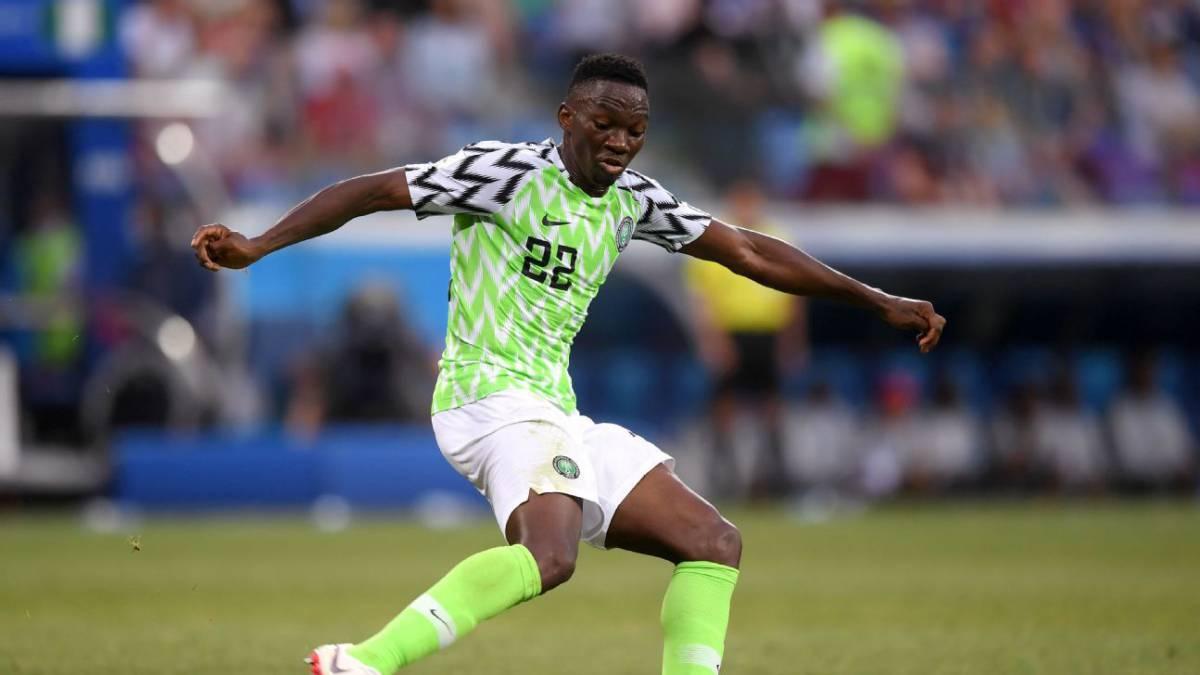 omeruo 1 1 - Musa out as Rohr picks Azeez, Olayinka, 21 others for Brazil friendly
