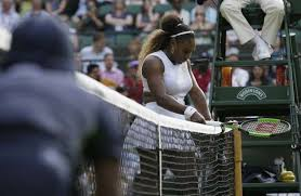 serena - Serena Williams fined $10,000 for damaging Wimbledon court