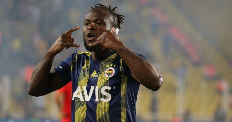 Fenerbahce's Victor Moses scores despite ear injury