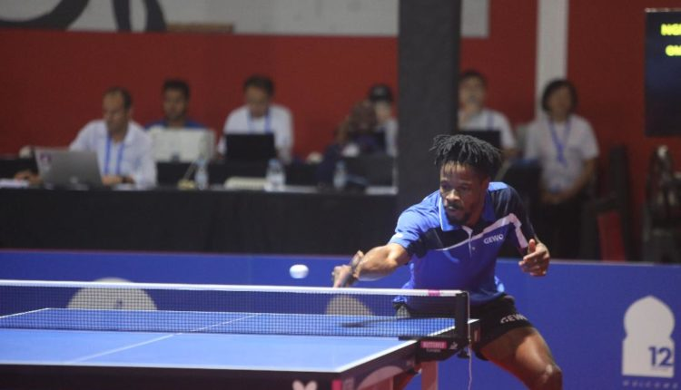12th African Games: Omotayo downs Quadri to win table tennis gold
