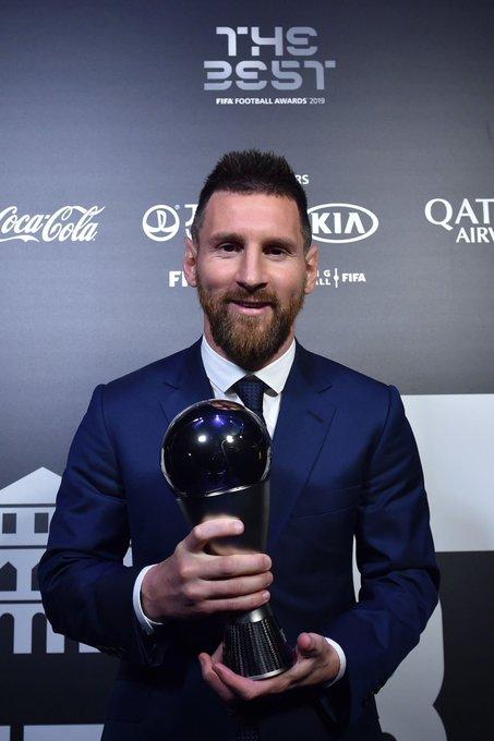 EFLOsWhWkAg0qBn - BEST FIFA FOOTBALL AWARDS: Musa picks Messi, Rohr goes for Mbappe