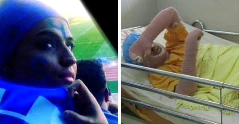 Sahar Khodayari 770x400 - Iranian football fan dies after setting herself on fire