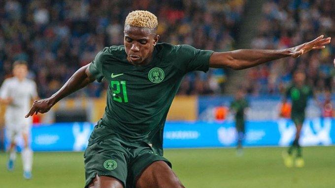 osimhen - Lille salute Osimhen for Eagles maiden goal