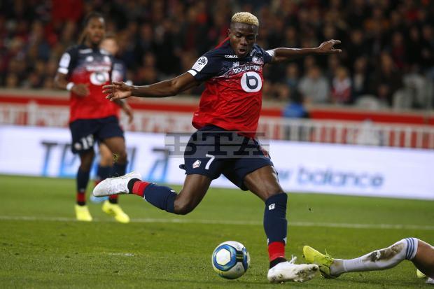 osimhen4 - French Ligue1: Osimhen, Kalu score, Simon plays for 90 minutes