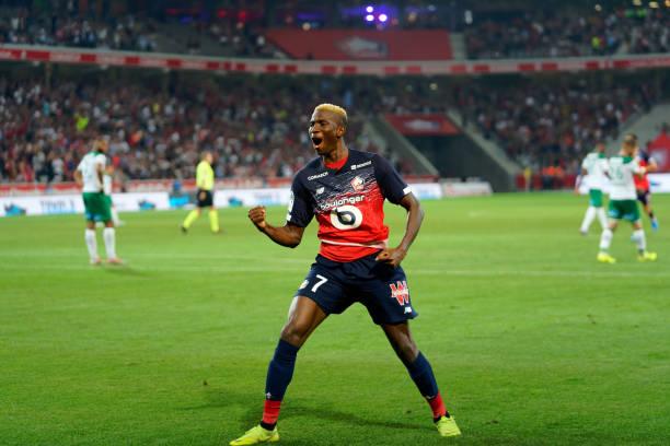 osimhen7 - French Ligue1: Osimhen, Kalu score, Simon plays for 90 minutes