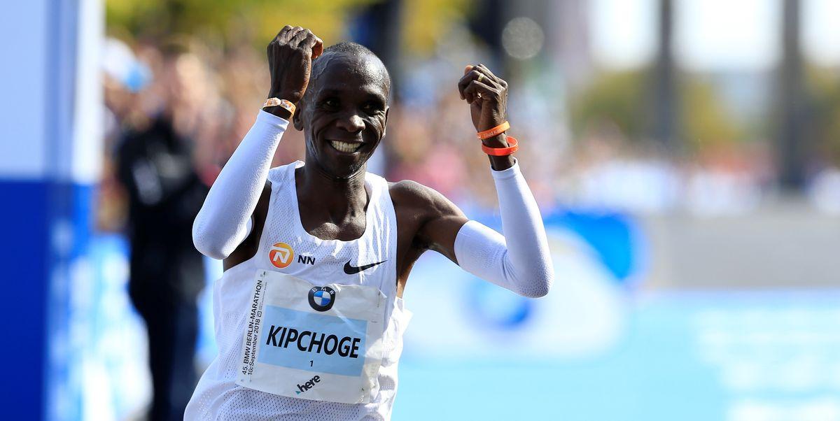 eliud kipchoge - Kenya's Kipchoge makes history, runs marathon race under 2 hours