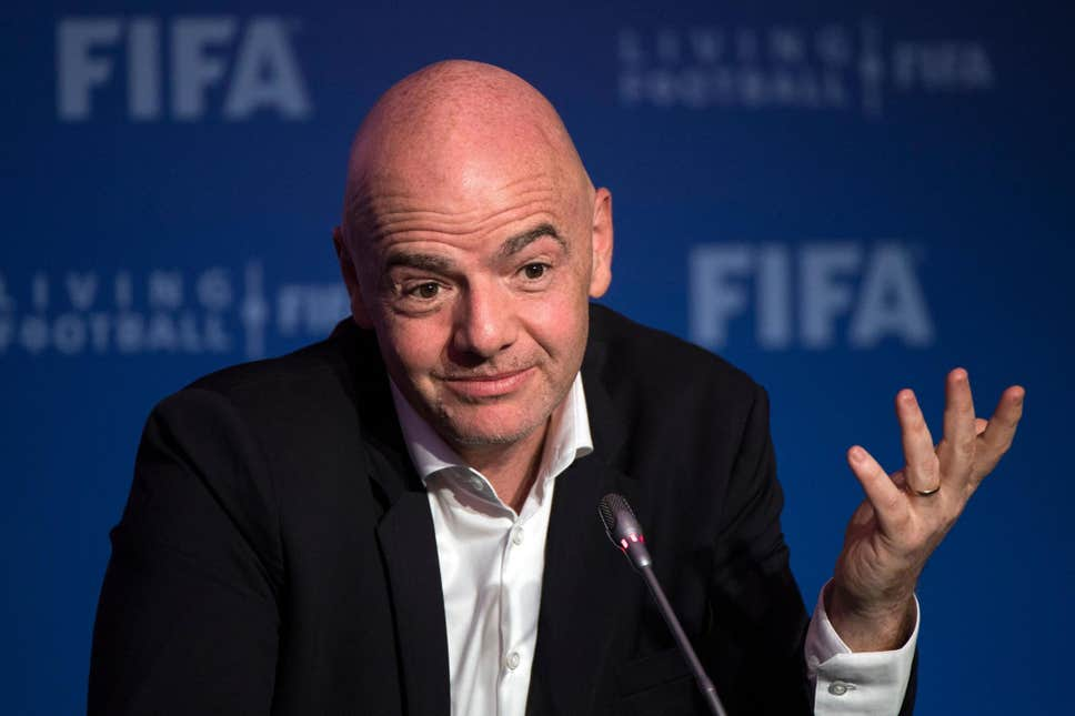 gianni infantino - FIFA puts CAF broadcast rights up for tender
