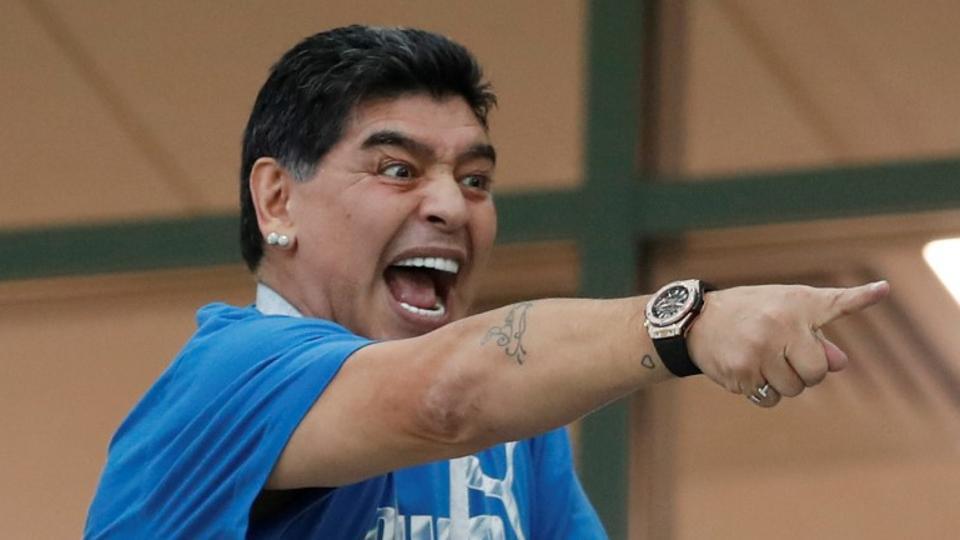 maradona7 - Maradona: I was abducted by aliens