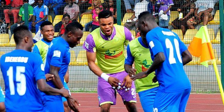 Martins Usule - Usule aims at NPFL top scorer's Award