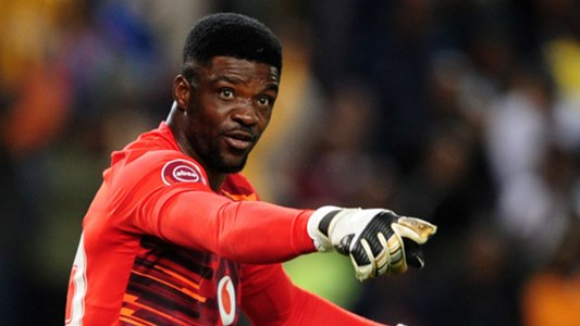 Daniel Akpeyi produced a solid display between the sticks for Kaizer Chiefs