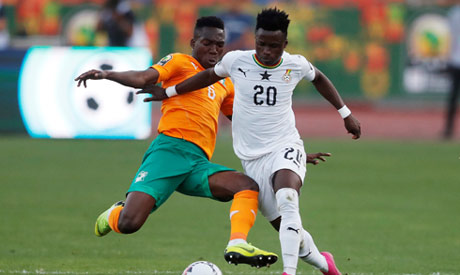 ivory coast versus ghana1 - U-23 Nations Cup: Hard fighting Black Meteors miss final