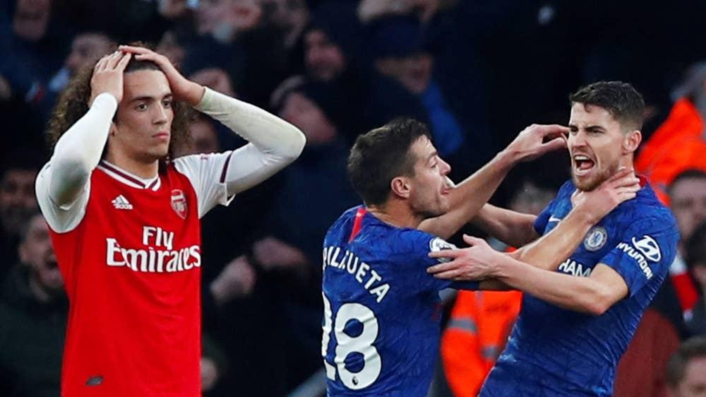ArsenalChelsea291219 17 - Arsenal vs Chelsea: Late Leno error deny Arteta first win as Gunners boss