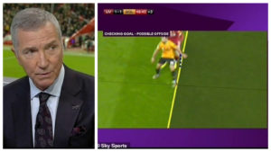VAR COLL 300x169 - Ex-Liverpool legend blasts VAR after another controversial decision