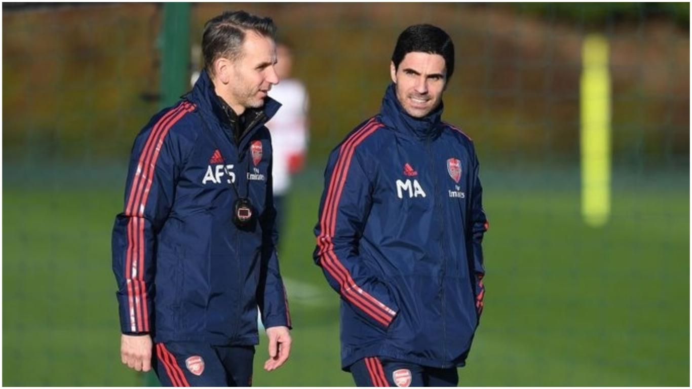 arteta coll - Arsenal unveil Mikel Arteta's coaching team