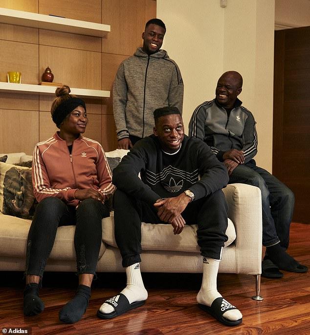 family things - Aaron Wan-Bissaka divides family in Arsenal vs Man U clash