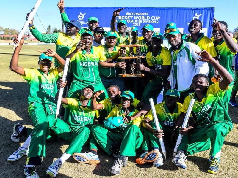 nigeria under 19 cricket t 2 - Nigeria's U-19 Cricket team good enough to face the world, says Enesi