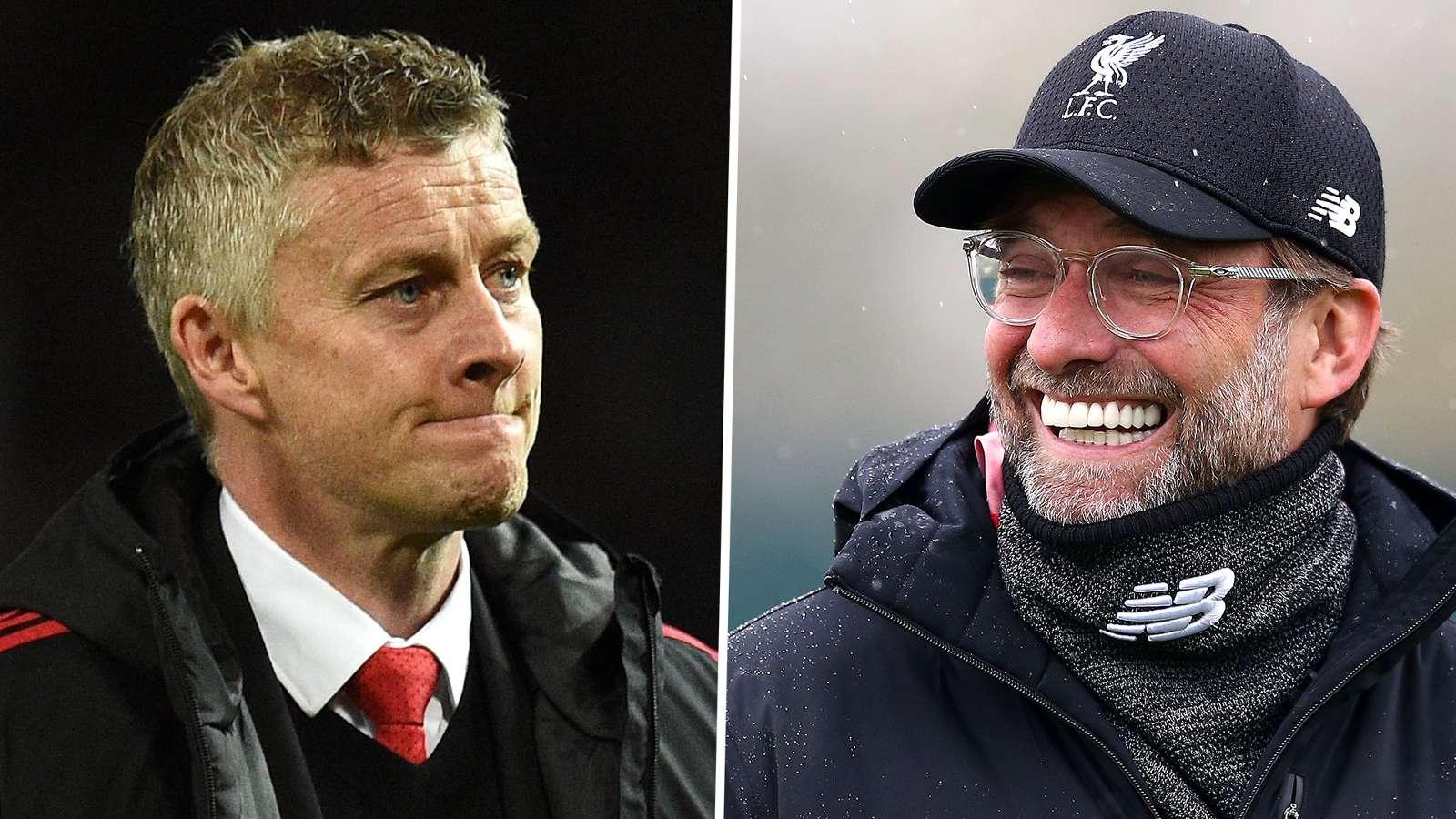 ole gunnar solskjaer jurgen klopp - Man Utd competing with Liverpool, says Solskjaer
