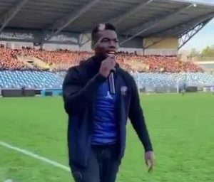 pogbaaaaaa 300x256 - French World Cup star makes managerial debut in charity match