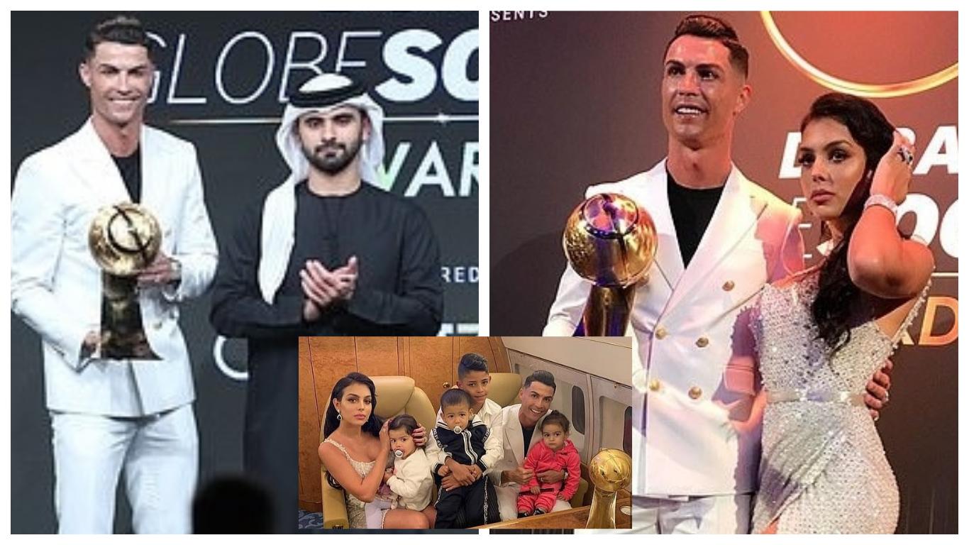 ron coll 2 - Ronaldo claims another prestigious award